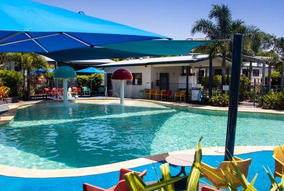 Pool at BIG4 Caloundra