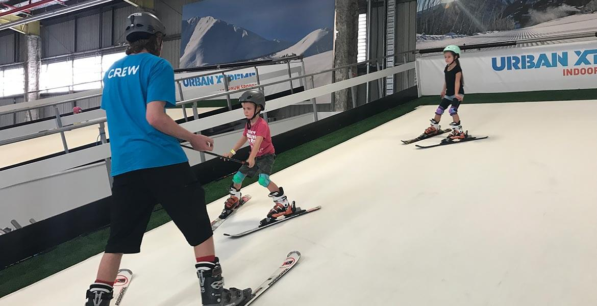 Ski lessons at Urban Xtreme