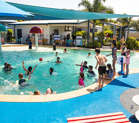 Swimming pool at BIG4 Caloundra