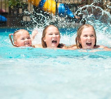 Swimming pool at TOP 10 Holiday Parks