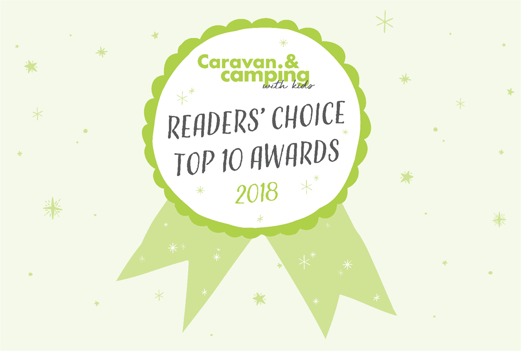 Holidays with Kids Readers' Choice Top 10 Awards 2018