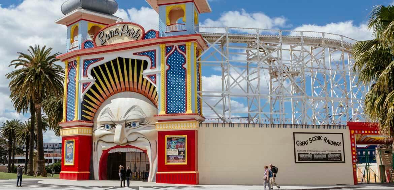 Luna Park Melbourne, St Kilda, Victoria