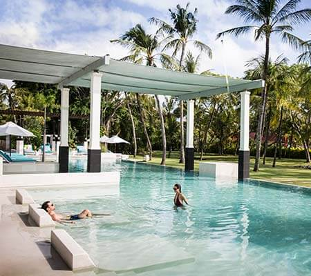 Adults swimming pool at Club Med Bali