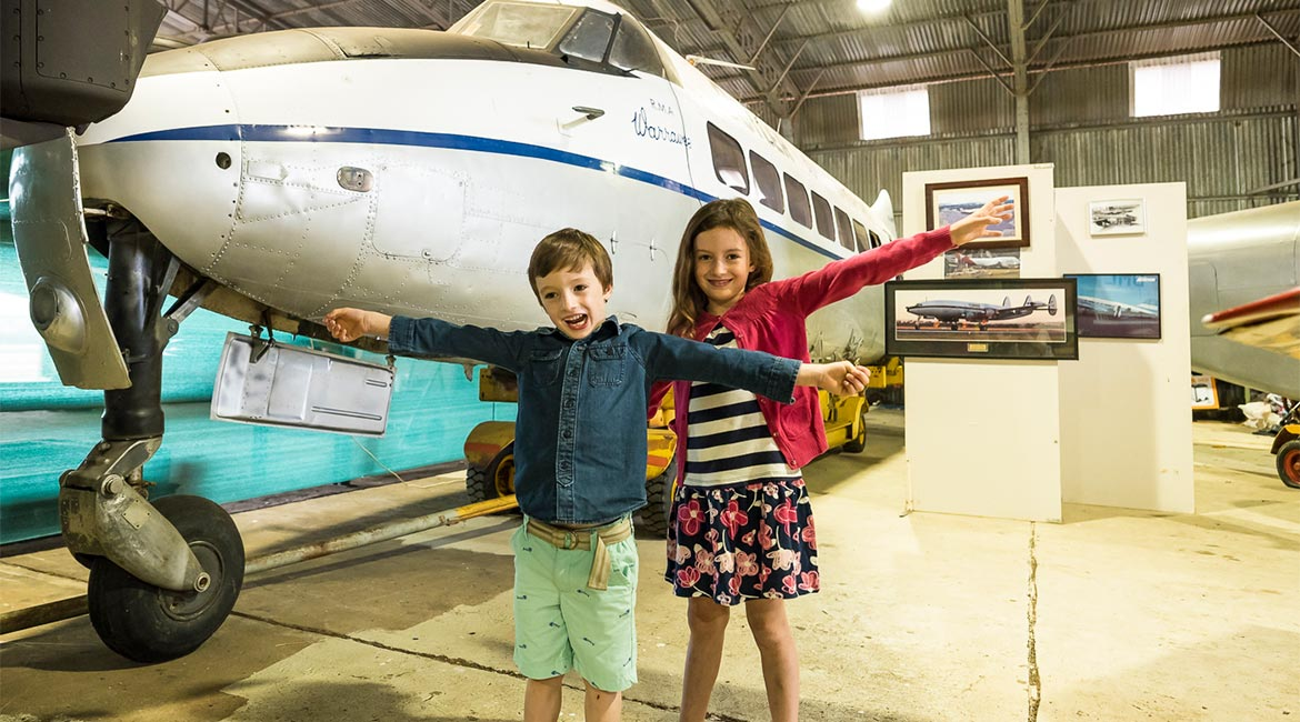 Aviation Museum in Parkes