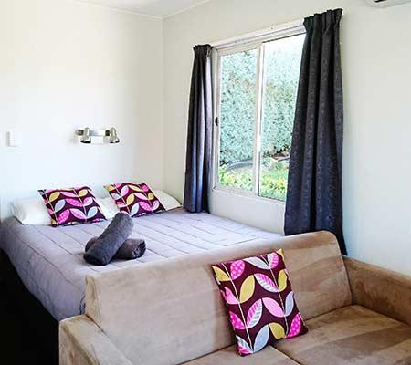 cabin at Taupo DeBretts Spa Resort