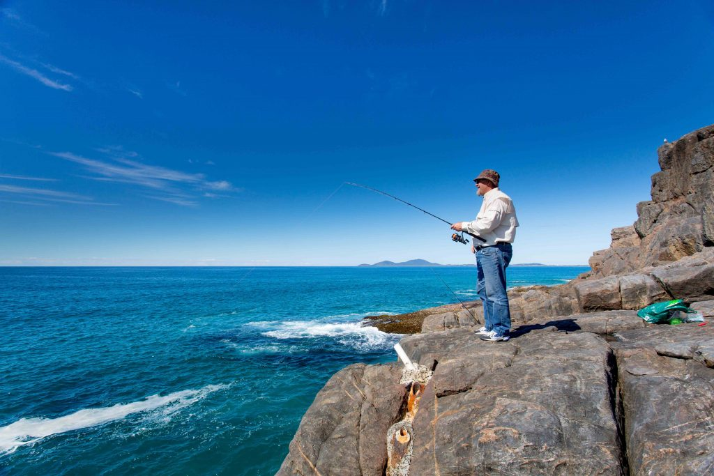 Fishing ©Macleay Valley Coast Holiday Parks