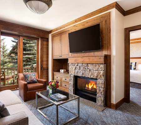 Resort Side Suite at the Four Seasons Resort and Residences Jackson Hole