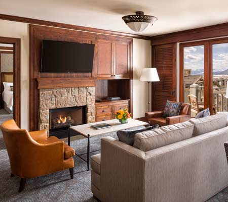 Mountain Side Suite at the Four Seasons Resort and Residences Jackson Hole