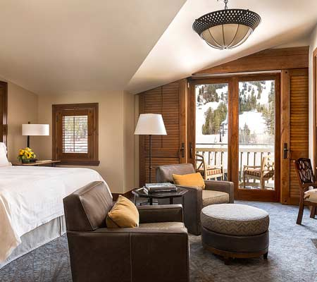 Mountain Side Guestroom at the Four Seasons Resort and Residences Jackson Hole
