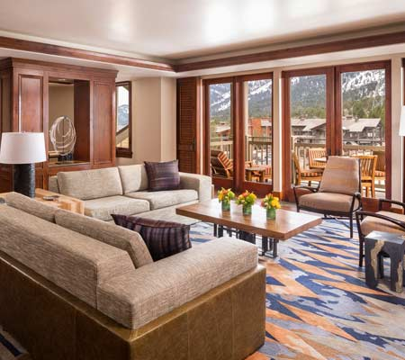 Presidential Suite at the Four Seasons Resort and Residences Jackson Hole
