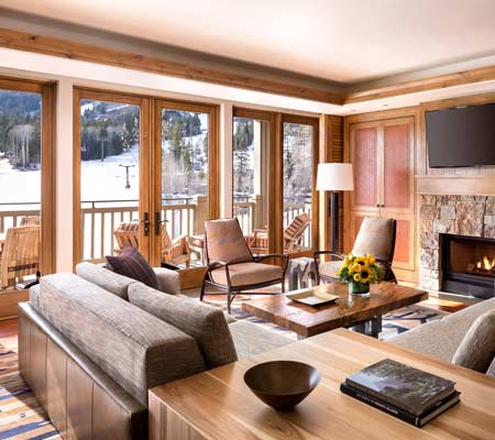 Specialty Suite at the Four Seasons Resort and Residences Jackson Hole