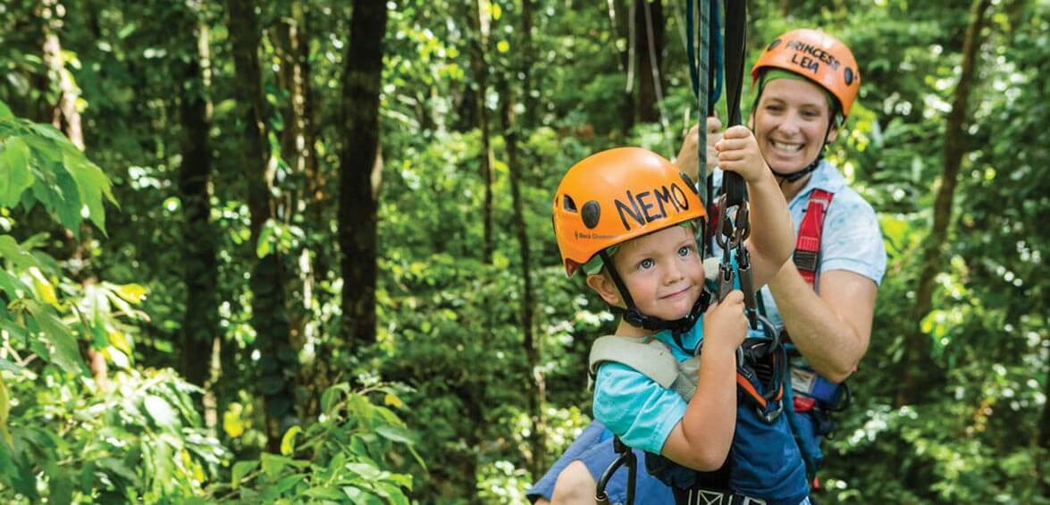 Jungle Surfing Canopy Tours, Queensland