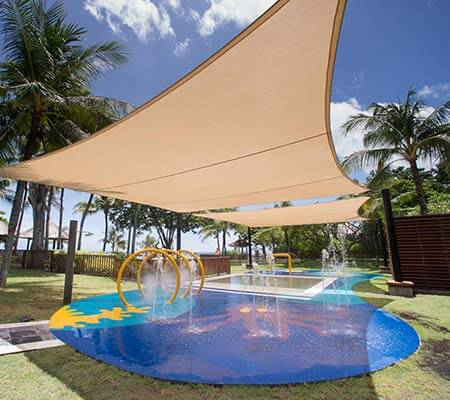 Kids water park at Club Med Bali