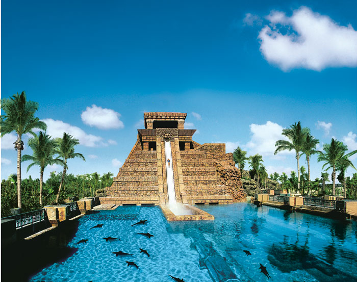 Leap of Faith at Atlantis Paradise Island, Bahamas
