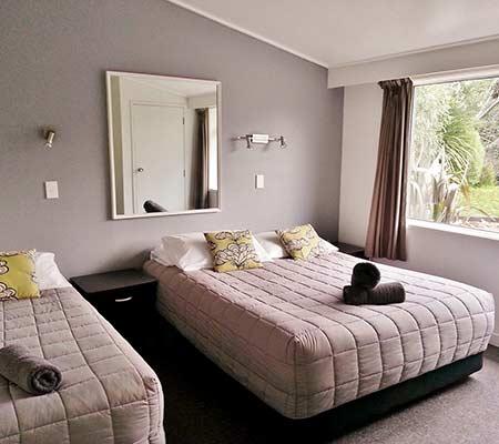 One bedroom motel at Taupo DeBretts Spa Resort