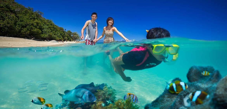 Snorkelling on Fitzroy Island