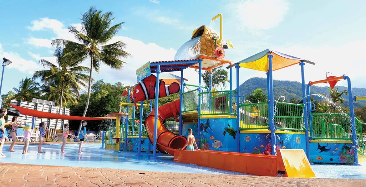 Splash Playground at BIG4 Ingenia Holidays Cairns Coconut