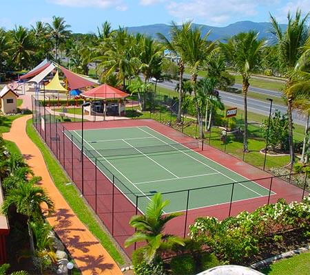 Tennis Court at BIG4 Ingenia Holidays Cairns Coconut