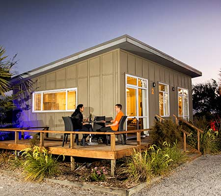 Two bedroom chalet at Taupo DeBretts Spa Resort