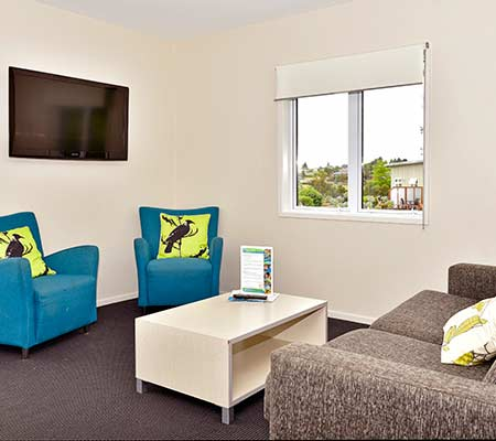 Two bedroom lodge at Taupo DeBretts Spa Resort