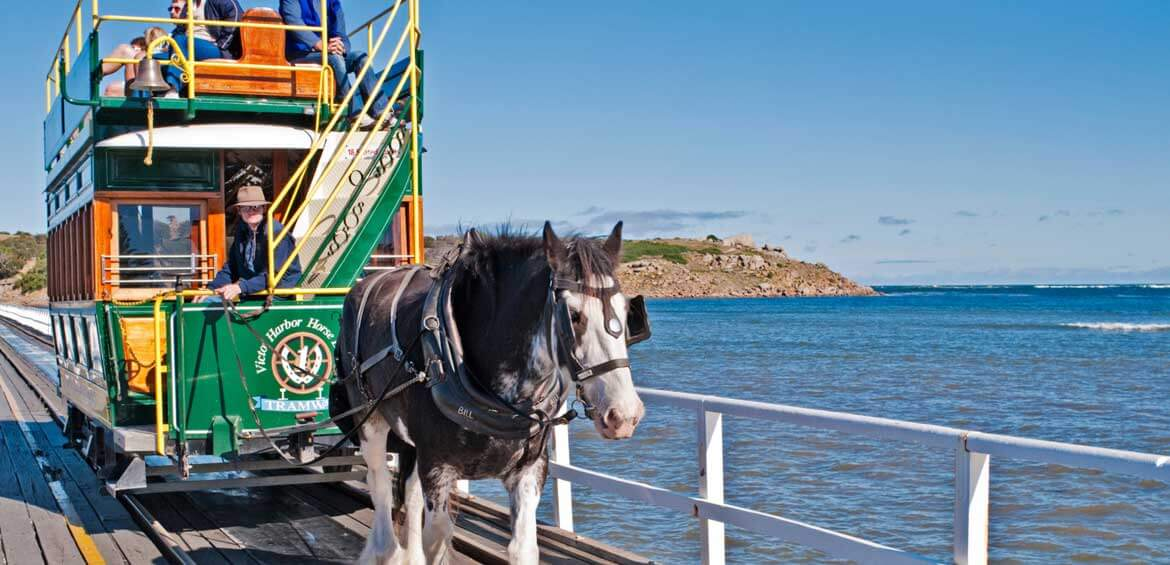 Horse Drawn Trams, Victor Harbor