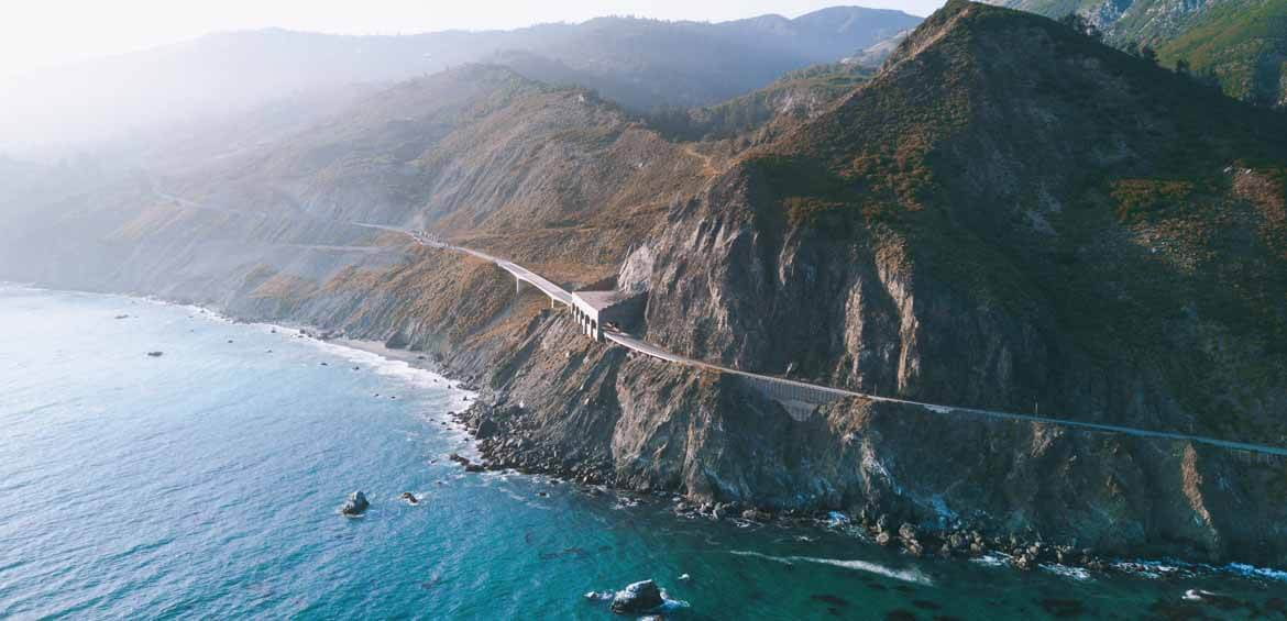 Big Sur, California, Highway 1