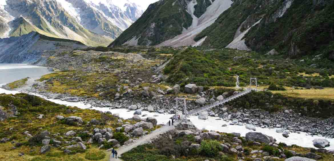 Mount Cook National Park, New Zealand, Christchurch to Lake Wanaka