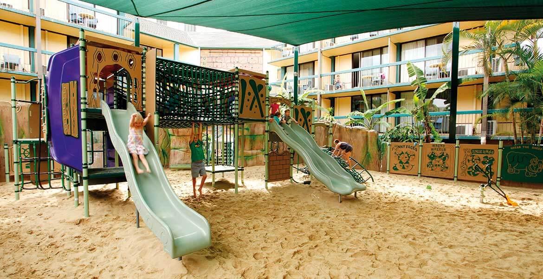 Adventure Playground at Paradise Resort Gold Coast