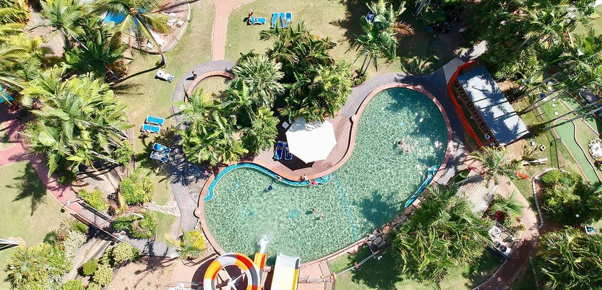 Aerial view of BIG4 Ingenia Holidays Cairns Coconut