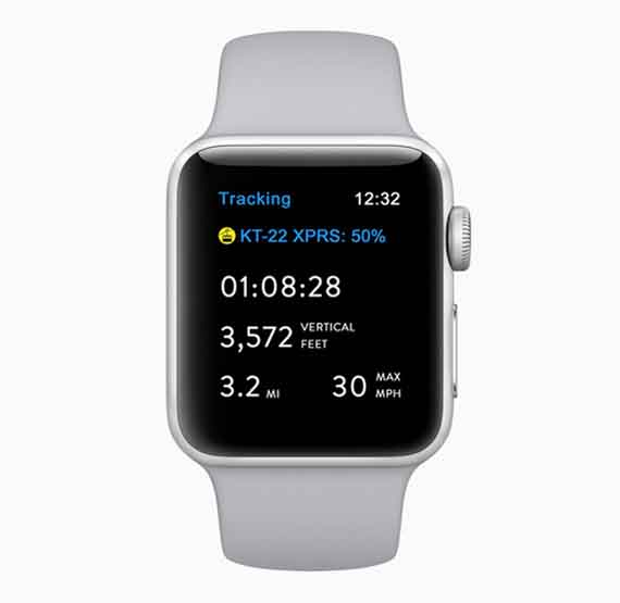 Apple Watch Series 3 & 4, snow gear