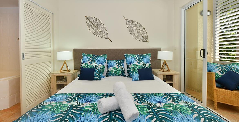 Bedroom at Cayman Villas Port Douglas