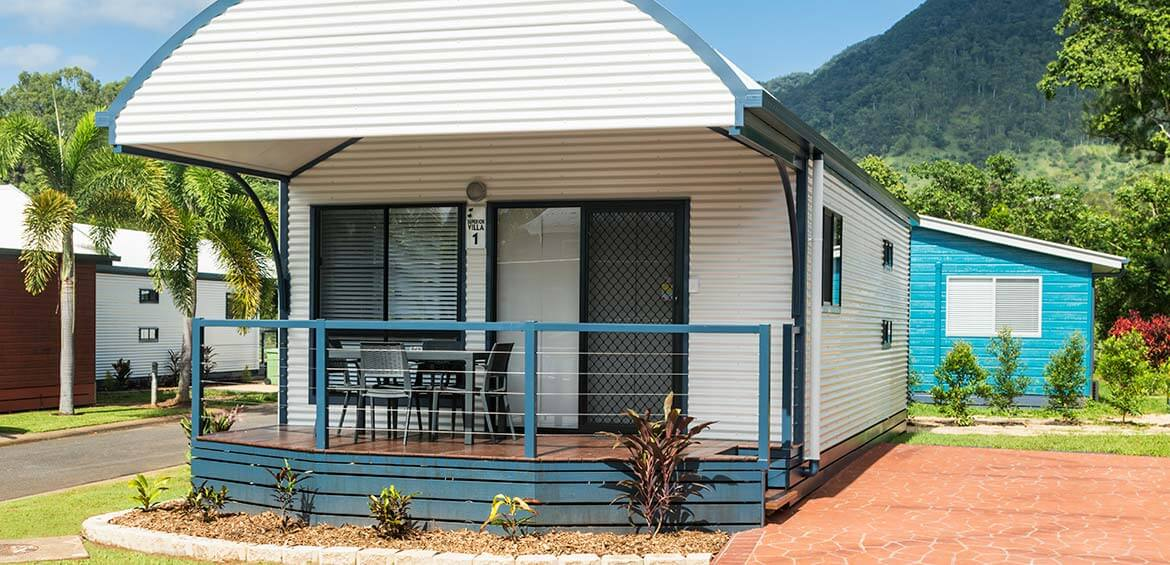 Cabins at BIG4 Ingenia Holidays Cairns Coconut