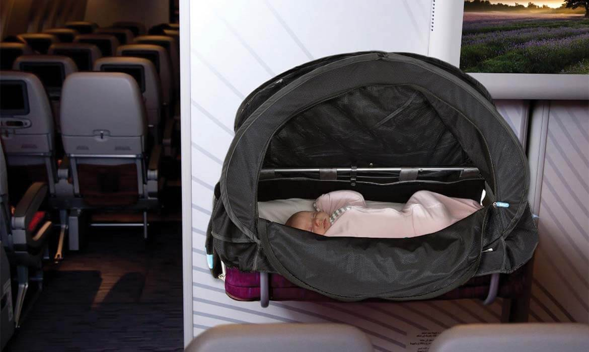 CoziGo product for flying with kids