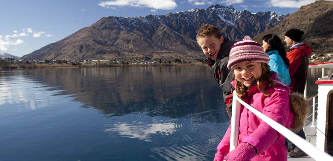 Queenstown, New Zealand, snow