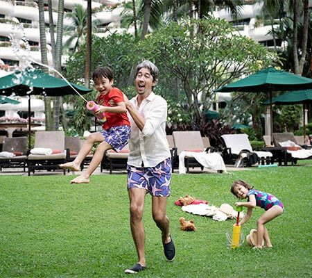 Family fun at Shangri-La Hotel, Singapore