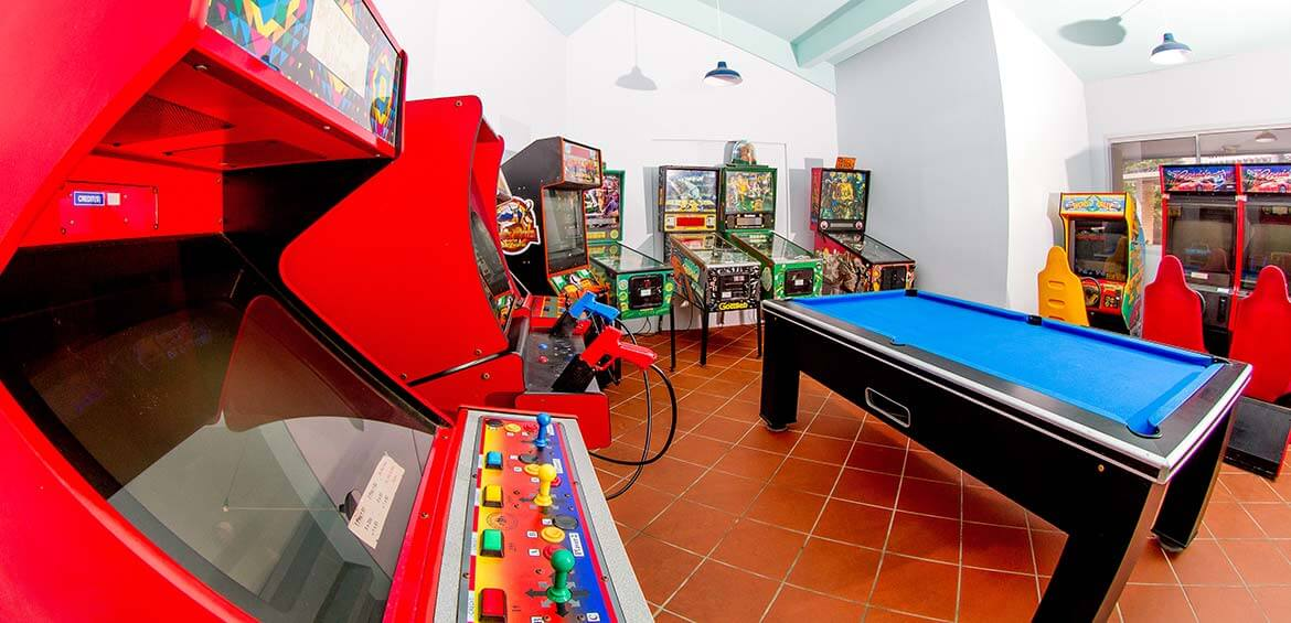 Games Room at Ingenia Holidays White Albatross