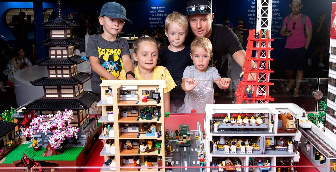 Grand opening of Brickman Cities Powdered by LEGO in Sydney