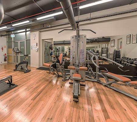 Gym at Holiday Inn Sydney Airport