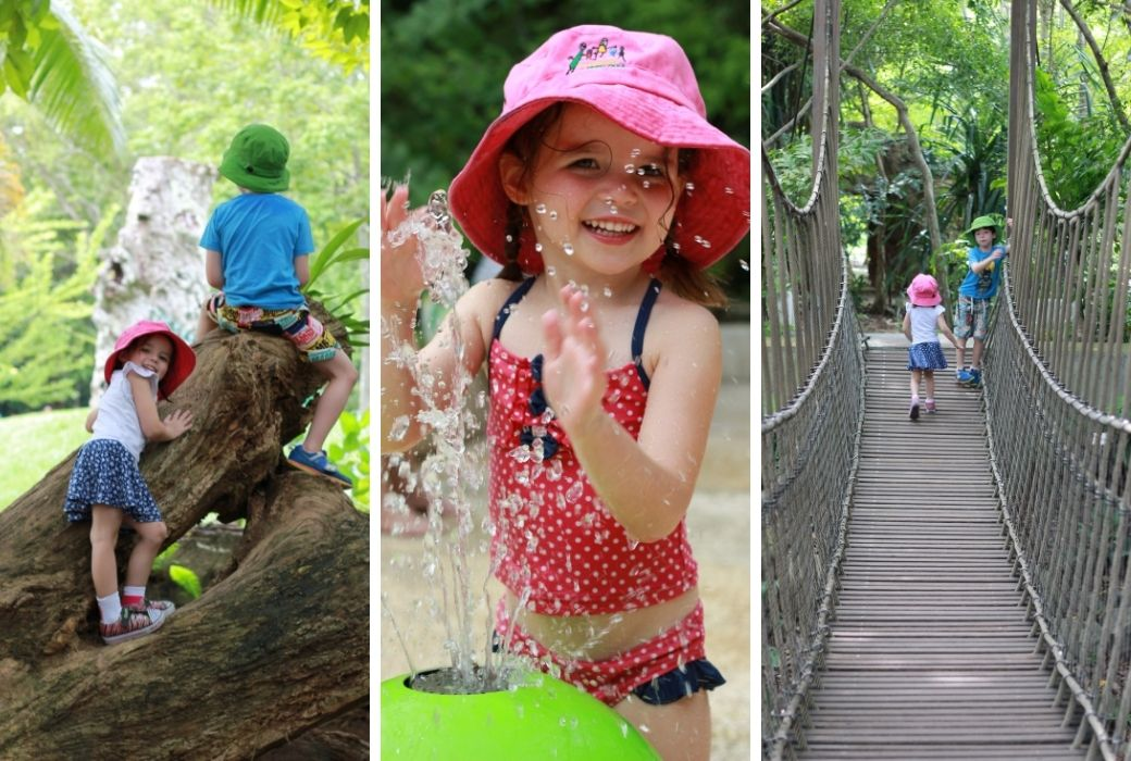 Things to do in Singapore with kids botanic garden