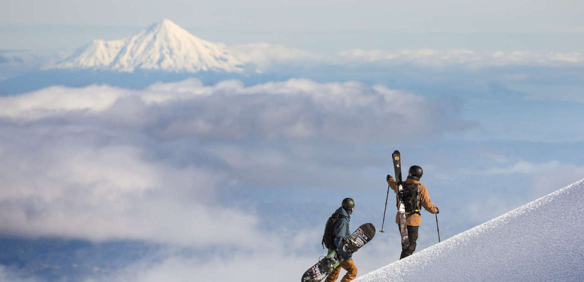 Ruapehu, New Zealand, snow, ski & snowboard