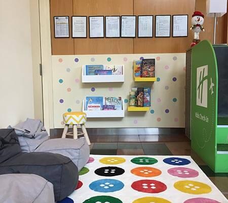 Kids corner at Holiday Inn Sydney Airport