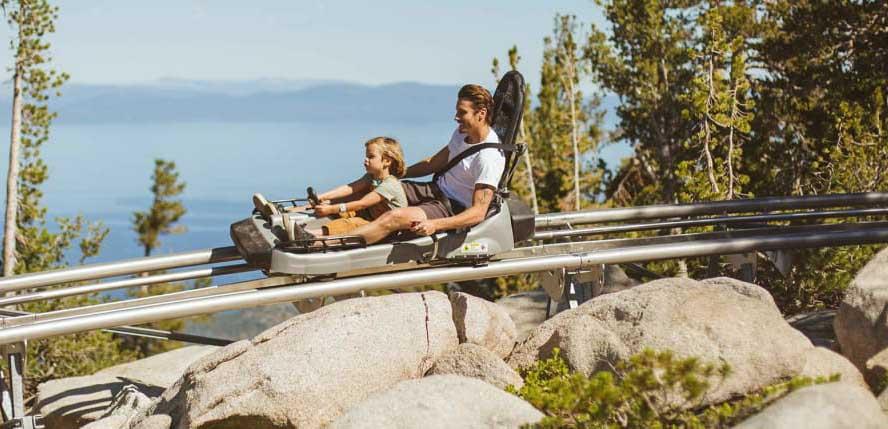 Snow activities, California, Heavenly Ski Resort