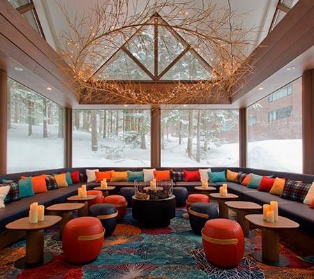 Nest Bar at Club Med Tomamu