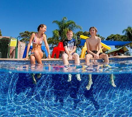 Pool at BIG4 Moruya Heads Easts Dolphin Beach Holiday Park