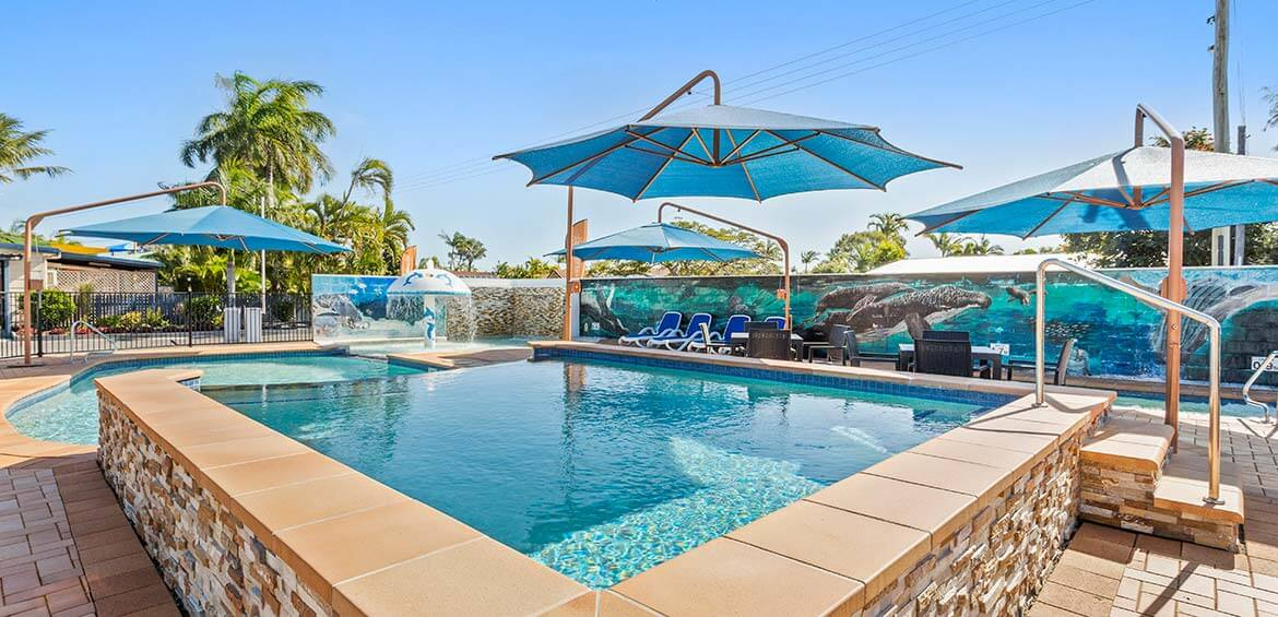 Pool at Ingenia Holidays Hervey Bay