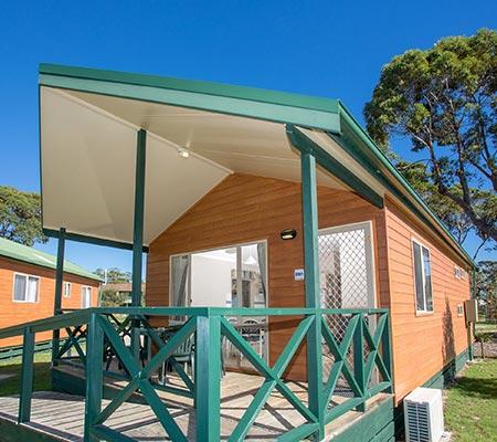 Poolside Spa Cabin