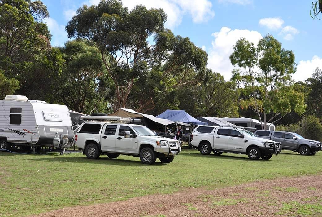 Sites at Western KI Caravan Park & Wildlife Reserve