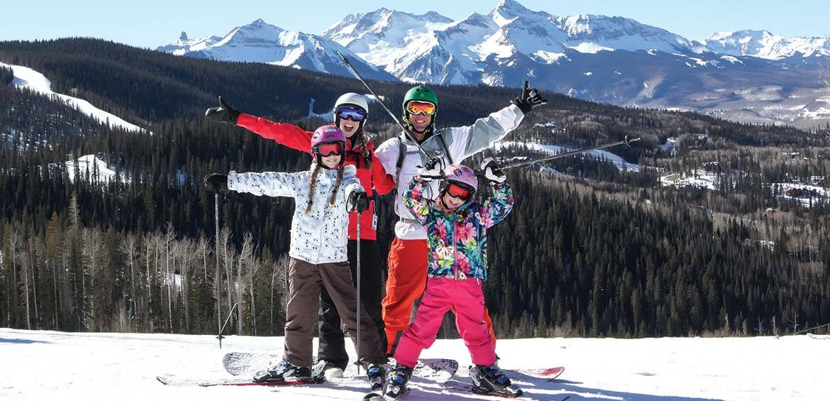 Ski holiday in Telluride