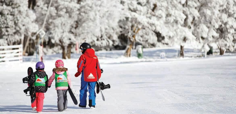 Thredbo, Australia, ski & snowboard, snow