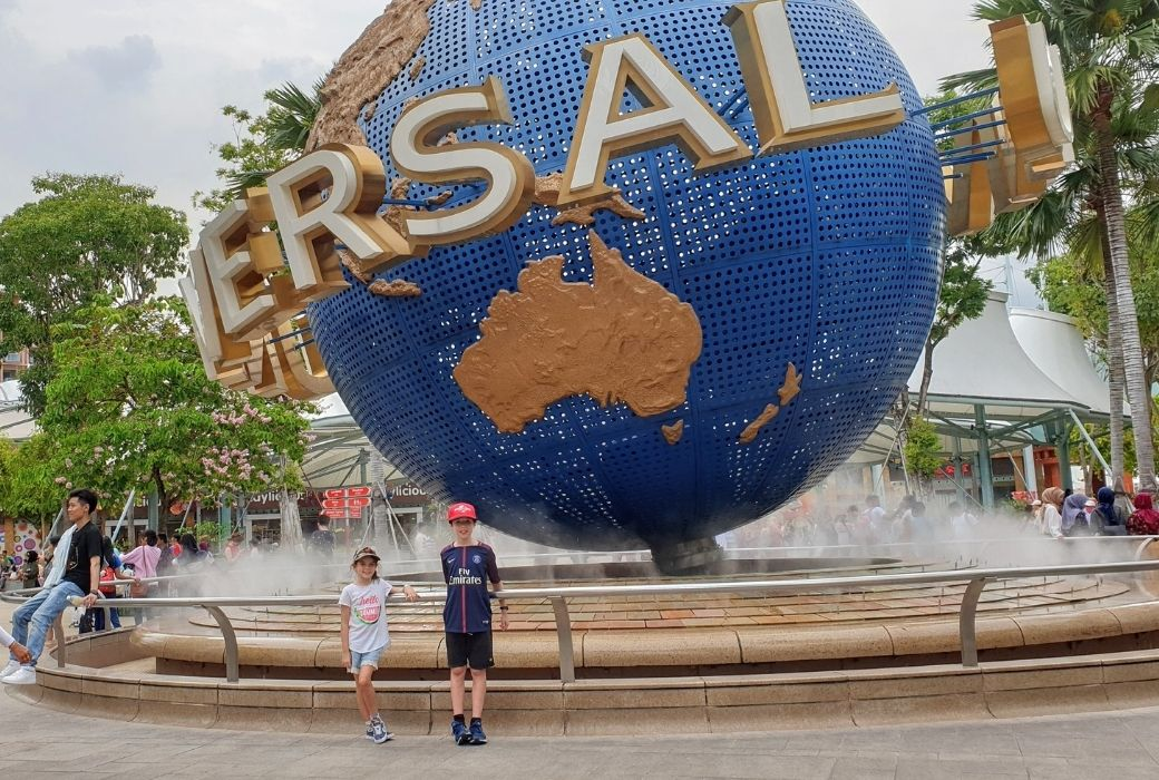 Universal Studios Things to do in Singapore with kids